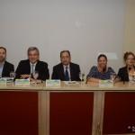 Το πάνελ της εκδήλωσης στο οποίο διακρίνεται στο κέντρο ο συντονιστής της εκδήλώσης, Γενικός Γραμματέας του ΥΔΔΑΔ, κ. Νικόλας Κανελλόπουλος και οι εισηγητές κ.κ. Φώτης Κωτσής, Δικηγόρος, Σύμβουλος ΔΣΑ, Πρόεδρος του ΑΚΚΕΔ ΠΡΟΜΗΘΕΑΣ, Χαράλαμπος Μαχαίρας, Αρεοπαγίτης, Διαμεσολαβητής και Πρόεδρος της Επιτροπής Εξετάσεων Υποψηφίων Διαμεσολαβητών, Δανάη Μπεζαντάκου, Επιχειρηματίας και Πρόεδρος του IforU και Amanda Bucklow, Διαμεσολαβήτρια, Επικεφαλής Εκπαιδεύτρια Facilit8