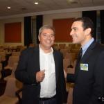 Ο κ. Σπύρος Αντωνέλος με τον Πρόεδρο του Δικηγορικού Συλλόγου Κεφαλληνίας, κ. Παναγή Καπάτο