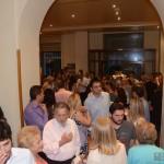 Μετά την εκδήλωση, στο εντευκτήριο του Πνευματικού Κέντρου του Πνευματικού Κέντρου του Δήμου Αθηναίων